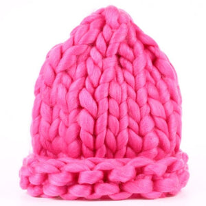 The Chunky Hat - Rose