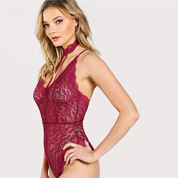 Lady In The Lace Bodysuit