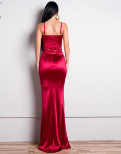 Off Shoulder Backless Mermaid Dress