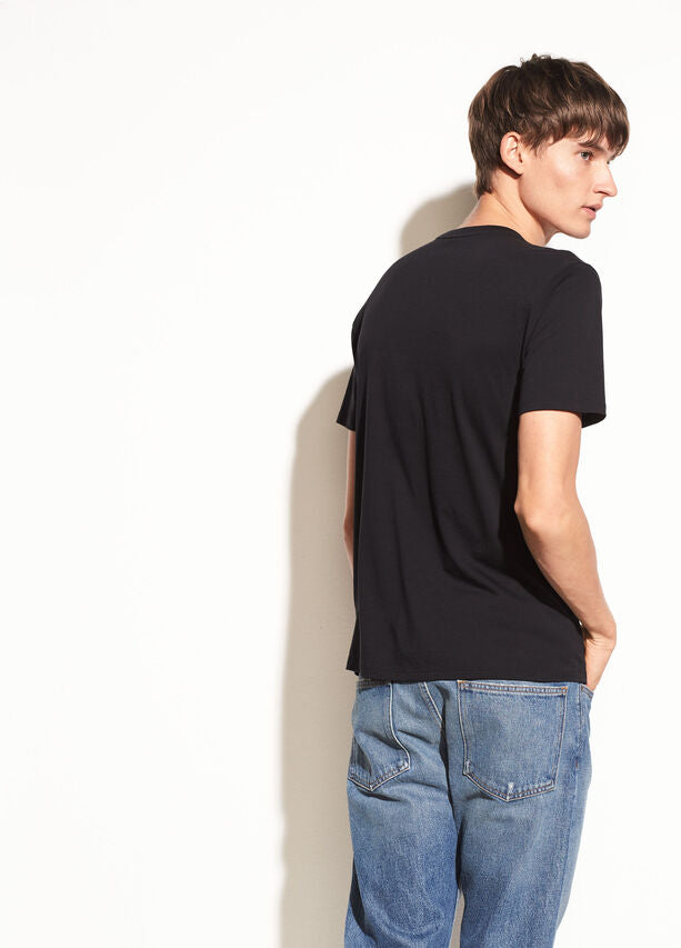Vince Slub S/S V-Neck Tee MR7789271