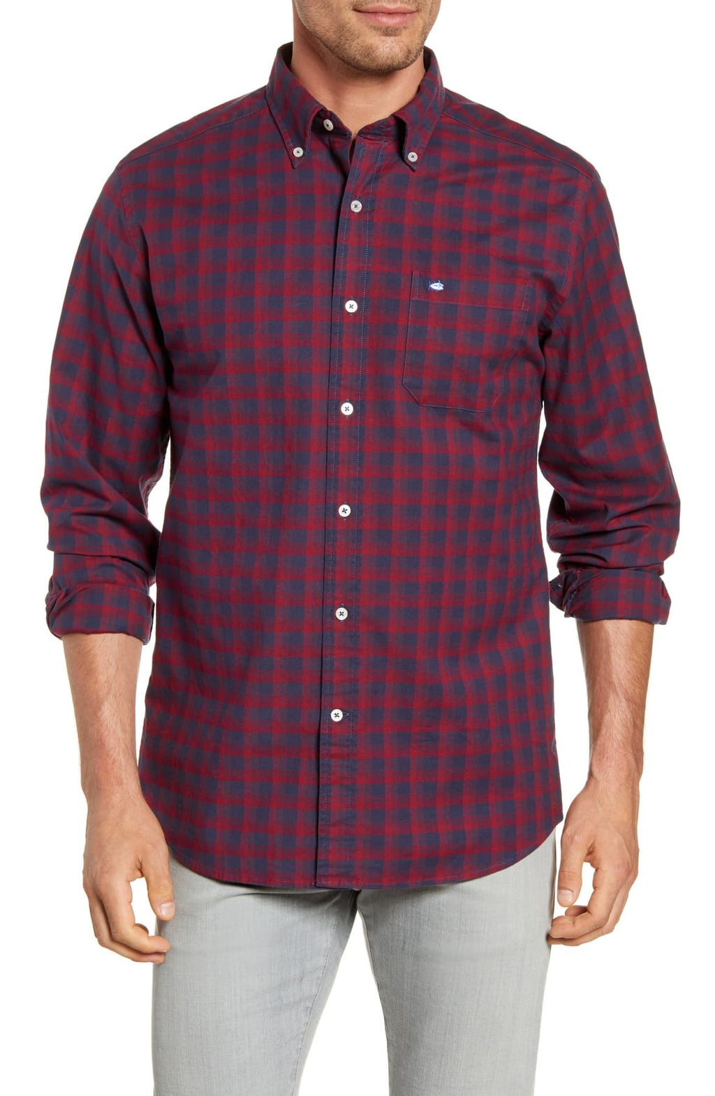 Southern Tide Flight Deck Oxford Sportshirt