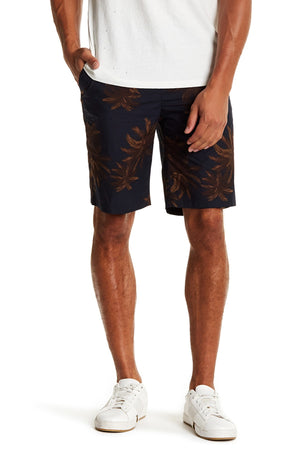 Vince Palm Tree Print Short