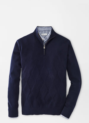 Peter Millar Multi Stitch 1/4 Zip MF20ES02