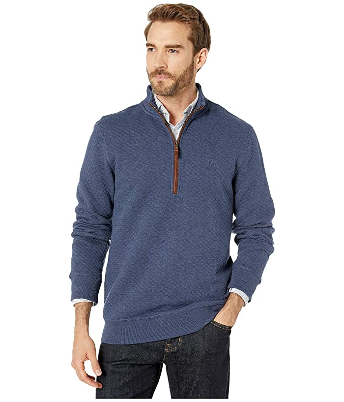 Southern Tide Sundown Quilted Quarter Zip