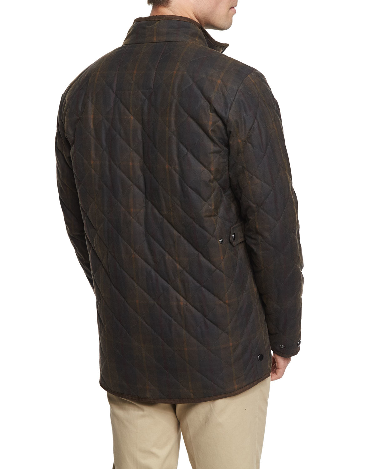 Peter Millar Chesapeake Quilted Wax Cotton Jacket Mf15Z12B