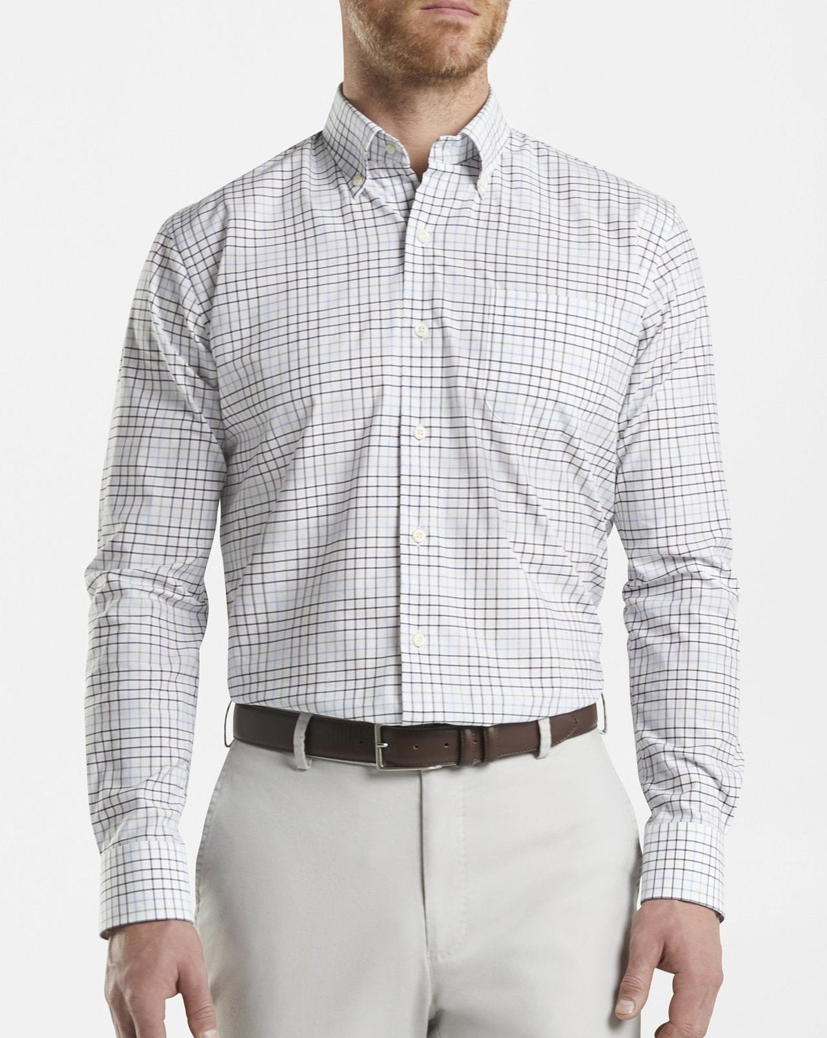 Peter Millar Crown Finish Simon Sport Shirt MF20W24NBL