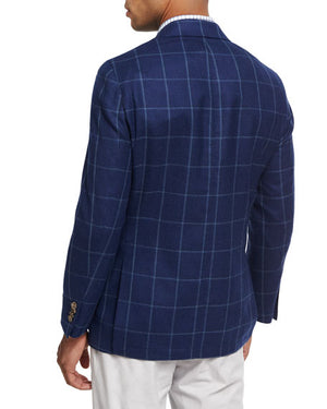 Peter Millar Windowpane Soft Jacket Ms17J06