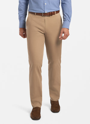 Peter Millar Raleigh Washed Twill Flat Front Pant MC0B84