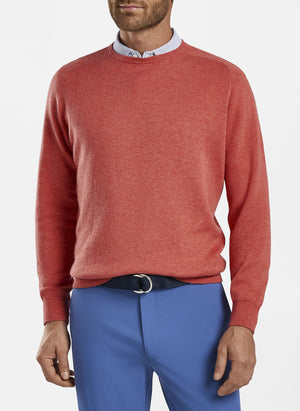 Peter Millar Men's Crown Crafted Interlock Crew Sweater MS21ES501