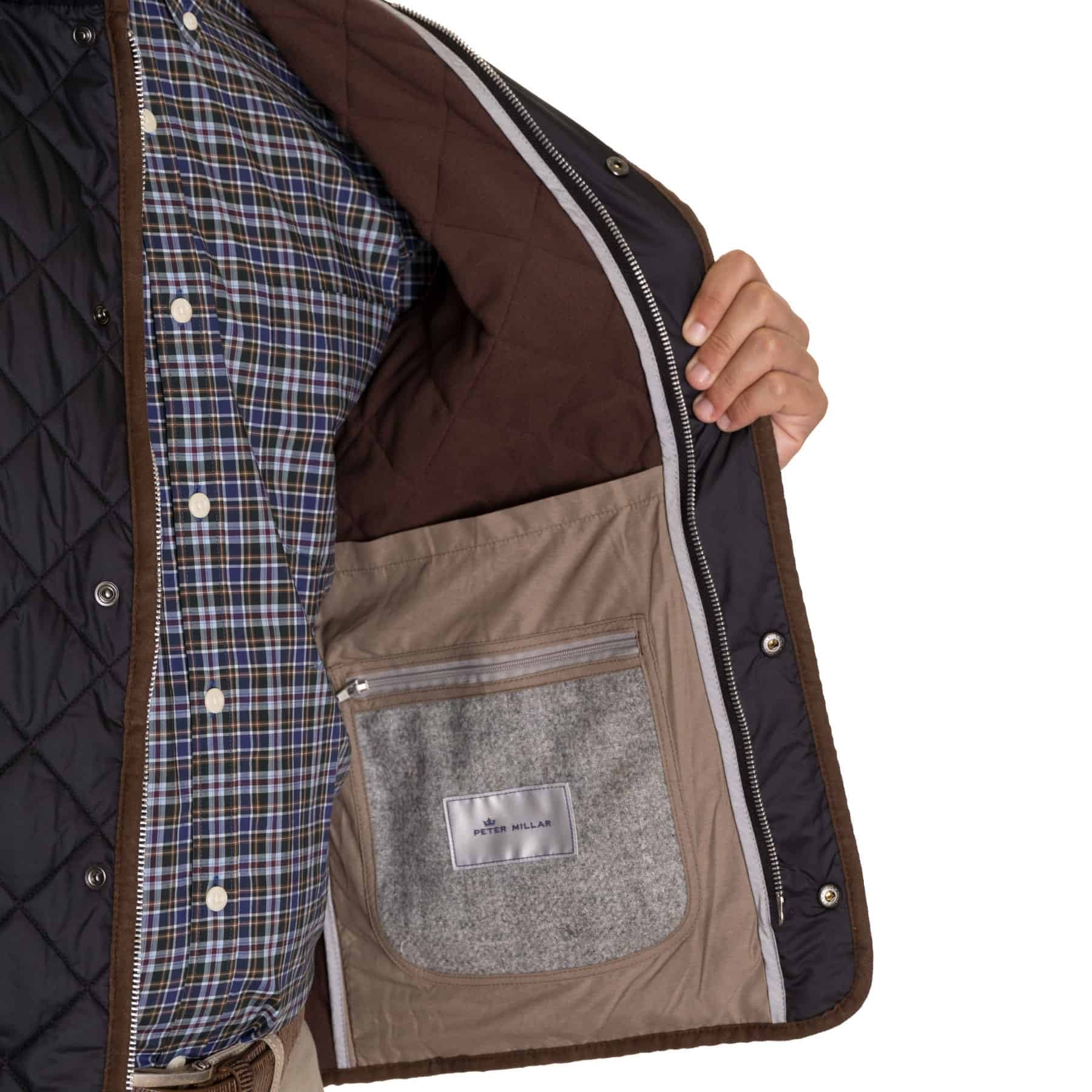 Peter Millar Essex  Quilted Traveler Vest Mf19Z13