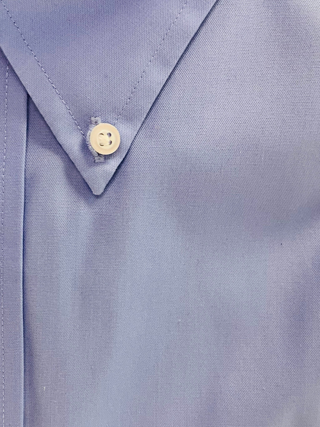 Giovanni's Button Down Collar Dress Shirt - Blue -12