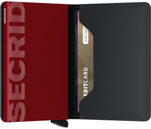 SECRID SLIM WALLET MATTE