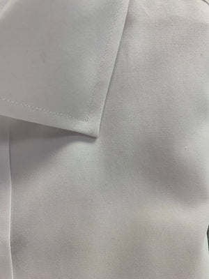 Giovanni's Premium Slim Fit Pinpoint Modified Spread Dress Shirt - White-01