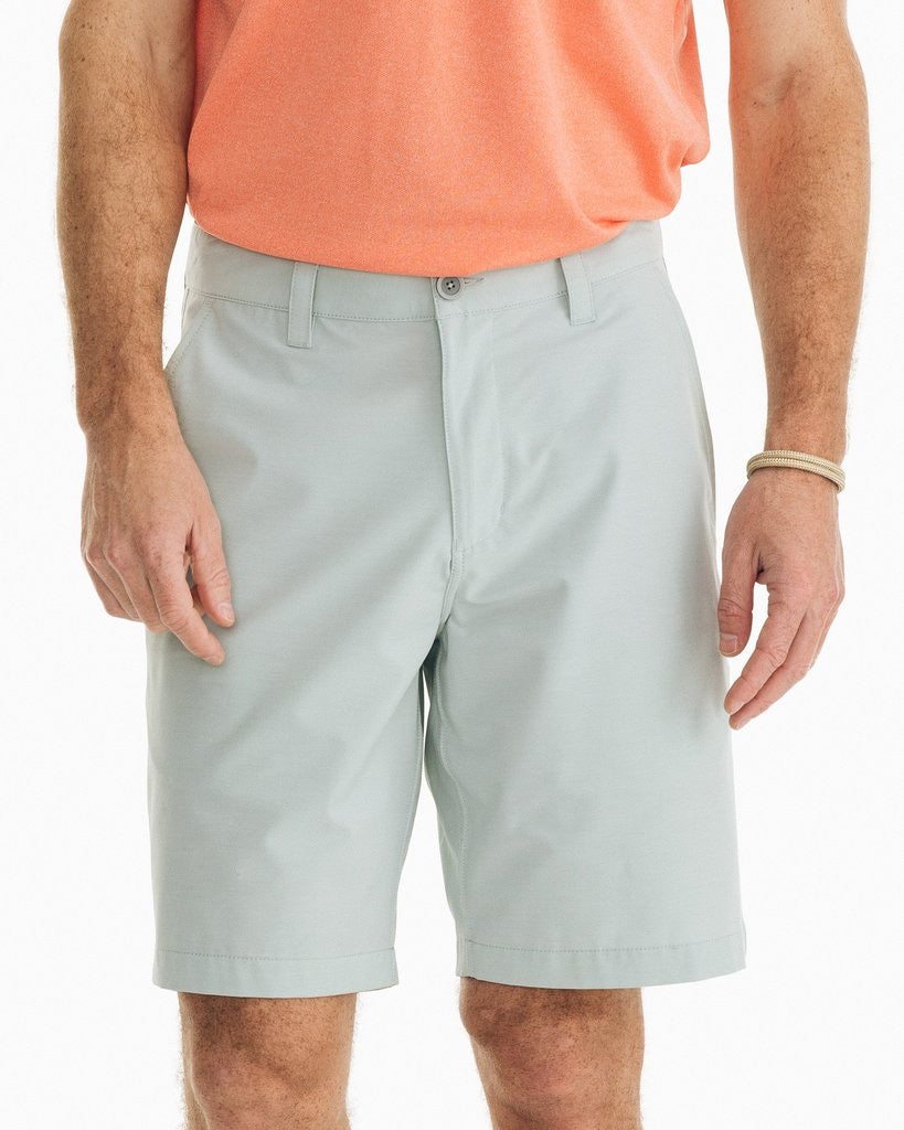 Southern Tide 9in Heather T3 Gulf Short