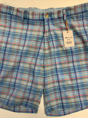 Peter Millar Apex Featherweight Plaid Short Ms19Eb92