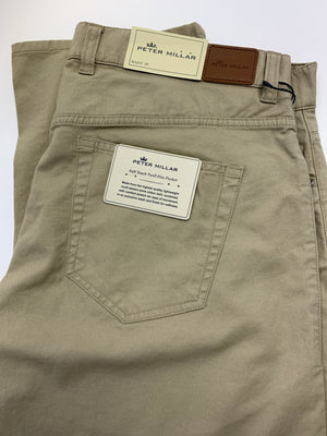 Peter Millar Soft Touch Twill 5-Pocket Pant Me0B47