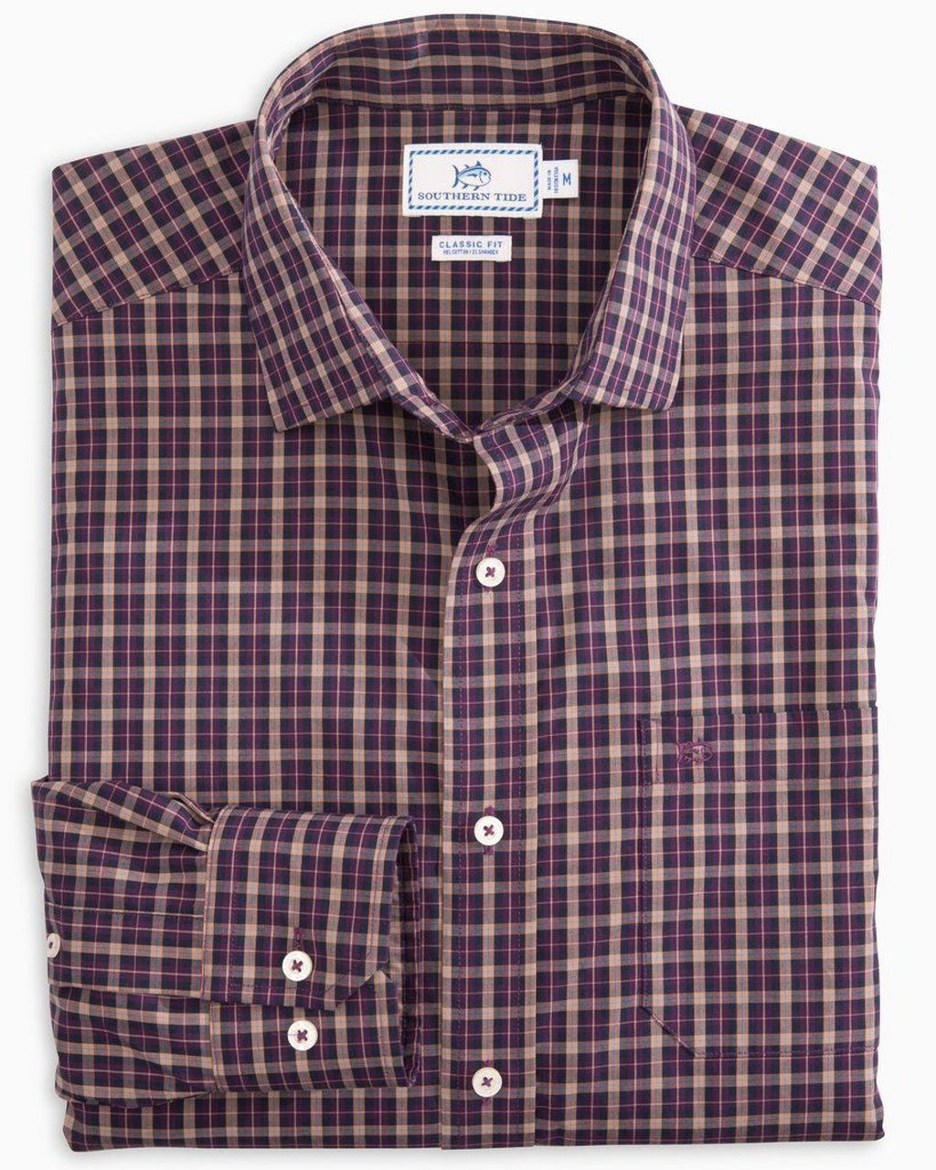 Southern Tide Shelter Deck Plaid Sportshirt