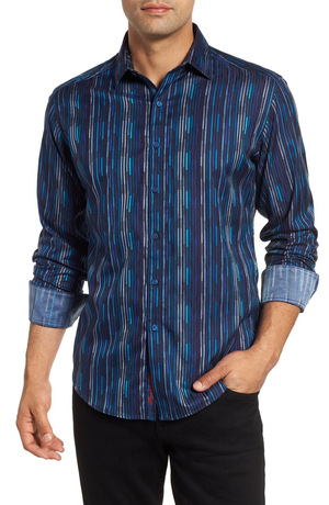 Robert Graham Shephard Graphic Sport Shirt