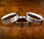 Futhark Runes Ring Collection