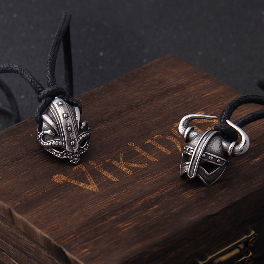 Viking Helmet Necklace