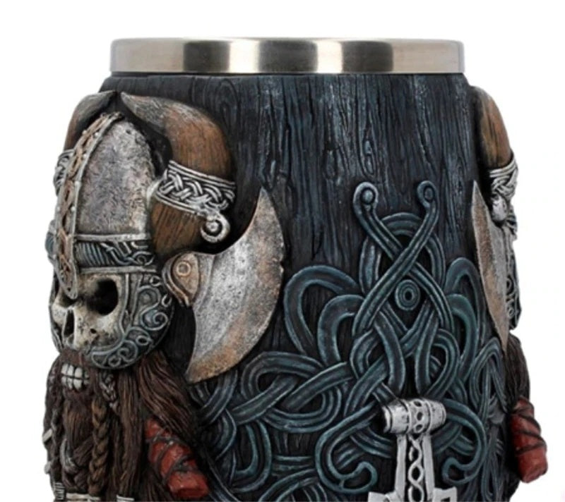 Viking Warrior Tankard