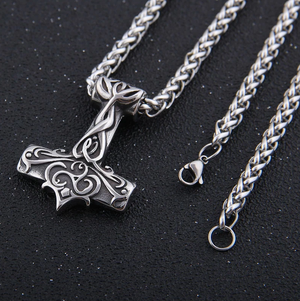 Asgardian Mjolnir Pendant Necklace