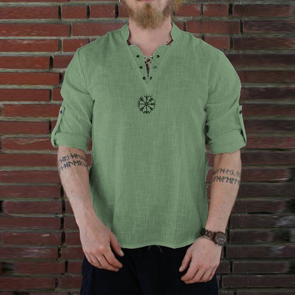 Viking Long Sleeve Vegvisir Shirt