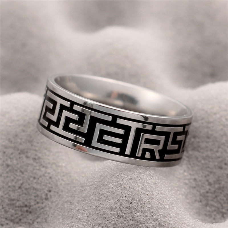 316L Stainless Steel Norse Ring