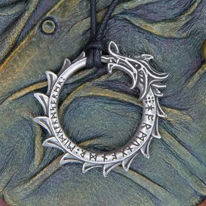 Ouroboros Dragon Necklace