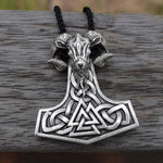Goat - Valknut Mjolnir Necklace