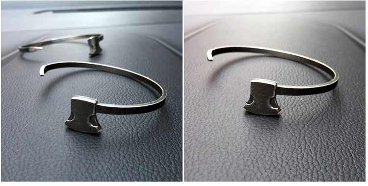 Stylised Viking Axe Bracelet