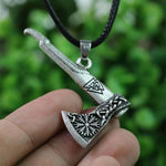 Viking Battle Axe Necklace