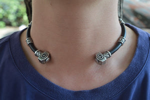 Viking Rune Beads Necklace