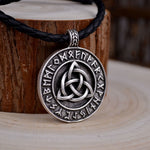 Runes & Triquetra Necklace