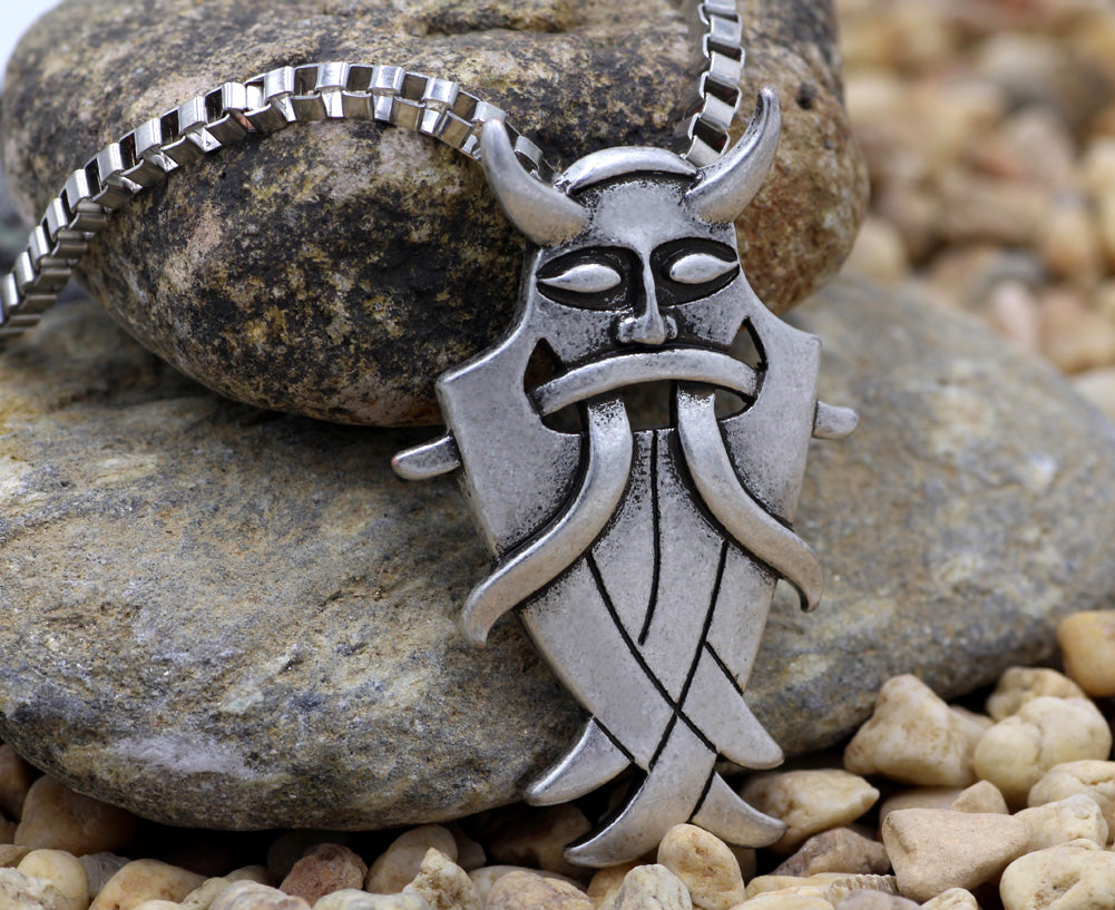 Odin's Mask Necklace