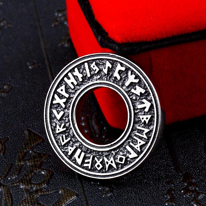 Futhark Runes Talisman Necklace