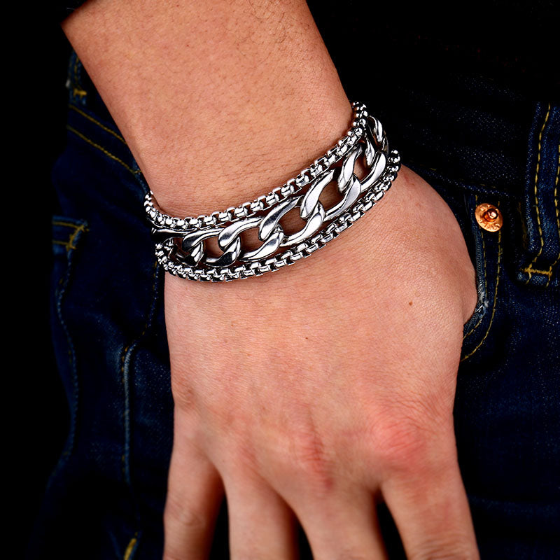 Stainless Steel Urban Bracelet