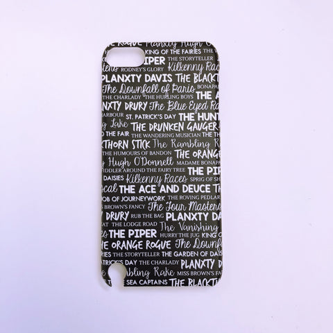 #1017 Set dances iPod touch 5 case