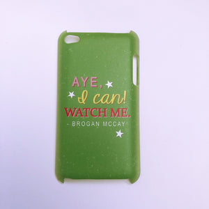 "#1026 ""Brogan"" iPod touch 4 case"