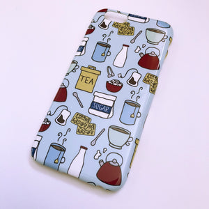#0047 Cup of Tea iPhone 6/6S gloss finish case