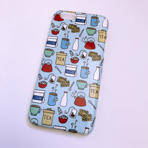 #0049 Cup of Tea iPhone 6/6S gloss finish case