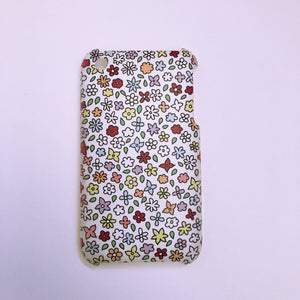 #0055 Ditsy floral iPod touch 4 case