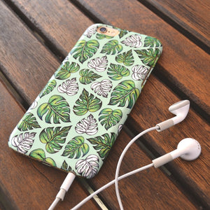 Leaf Pattern case in Sage