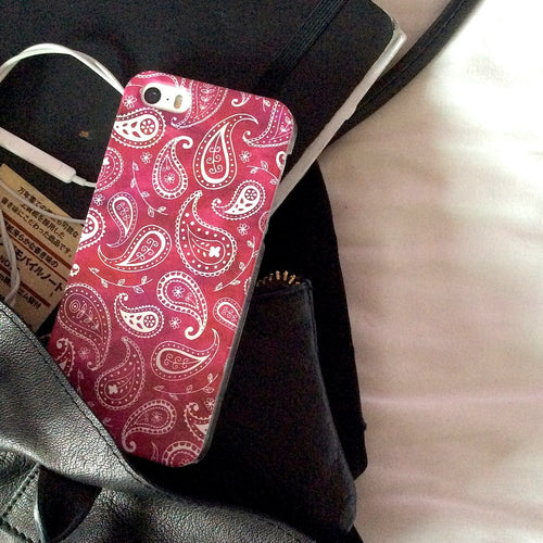 Paisley case in Pink