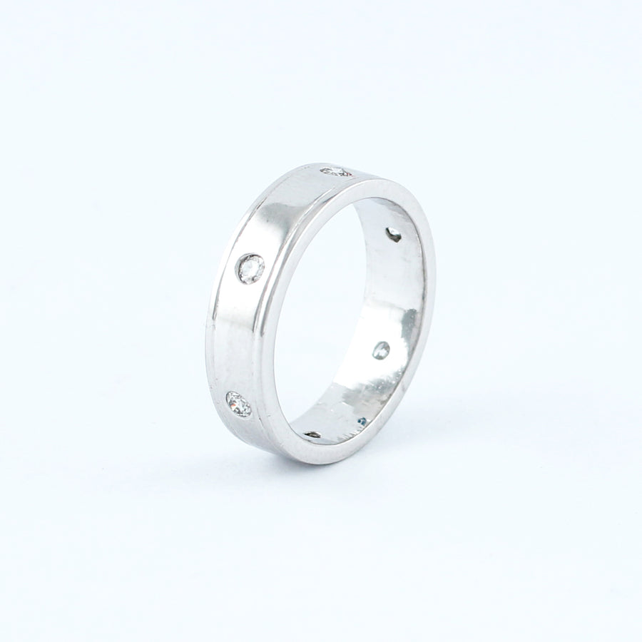 18KT WHITE GOLD LADIES RING (RI0001690)