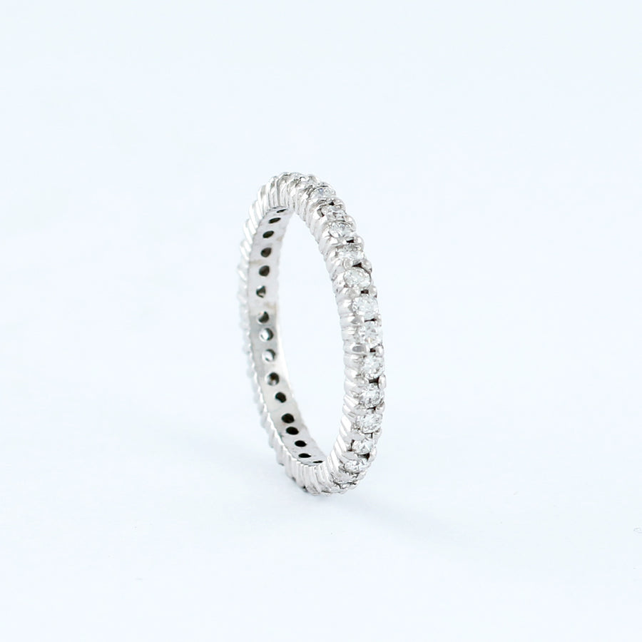 18KT WHITE GOLD LADIES RING (RI0001697)