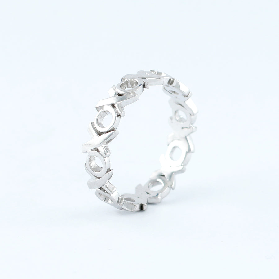 18KT WHITE GOLD LADIES RING (RI0001693)
