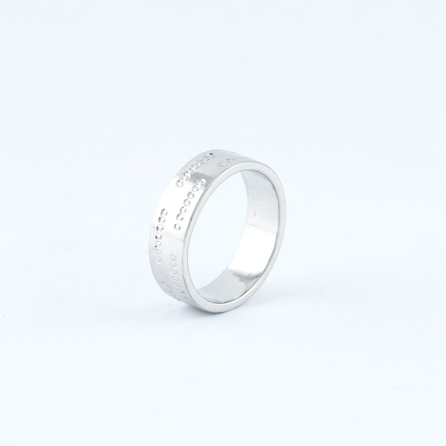 18KT WHITE GOLD LADIES RING (RI0001695)