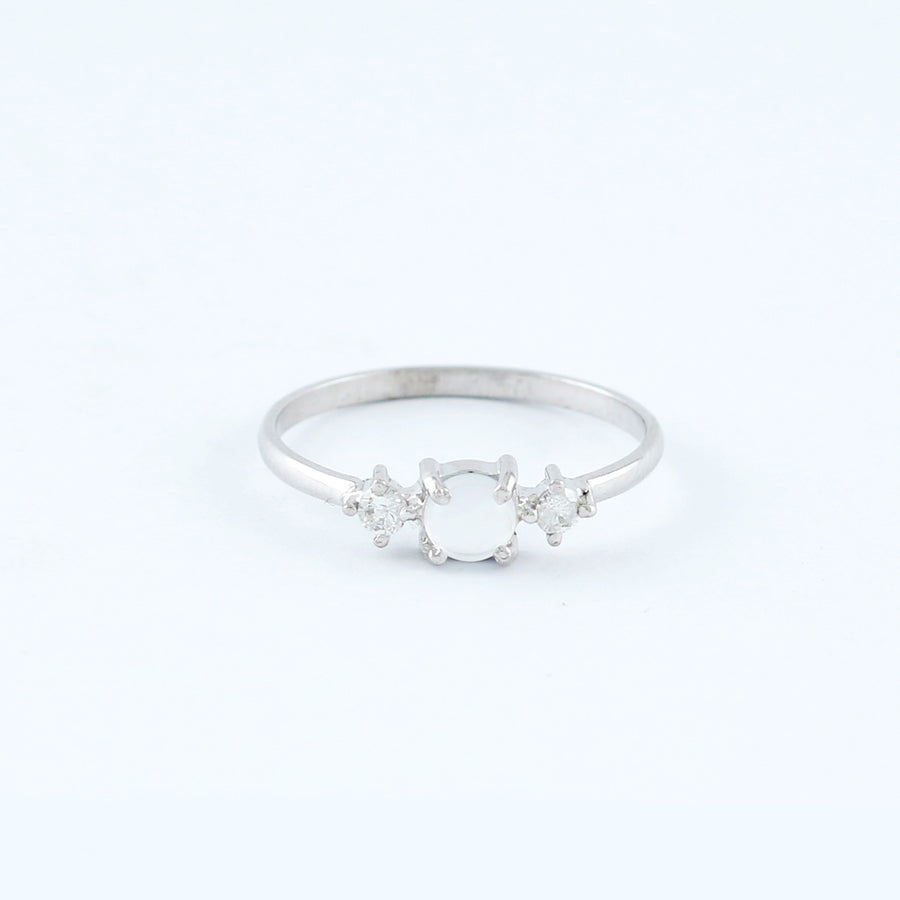18KT WHITE GOLD LADIES RING (RI0001702)