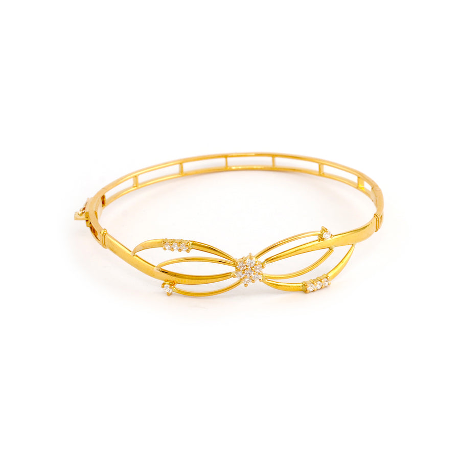 22KT YELLOW GOLD BANGLE (BA0000856)